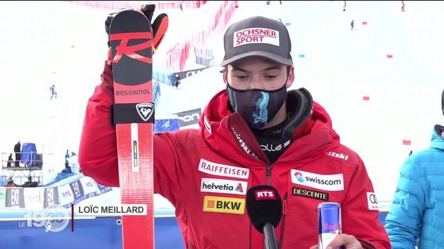 Mondiaux de ski : nouvelle médaille de bronze pour Loïc Méillard. [RTS]
