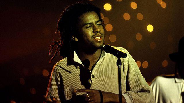 Tonton David en février 1994. [Lecoeuvre Photothèque - Collection ChristopheL/AFP]
