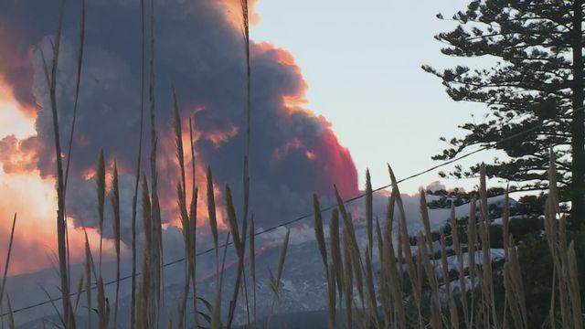 Eruption de l'Etna [RTS]