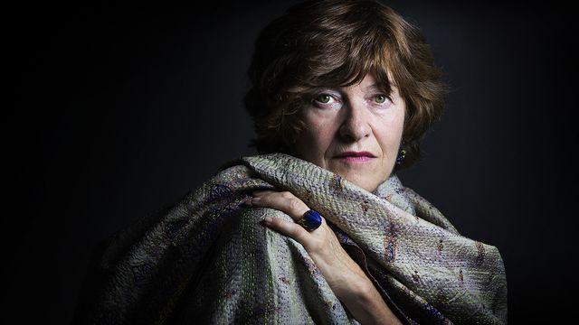 L'écrivaine Maryline Desbiolles. [Joël Saget - AFP]