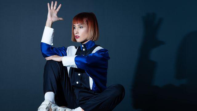 La chanteuse française Suzane. [JOEL SAGET - AFP]