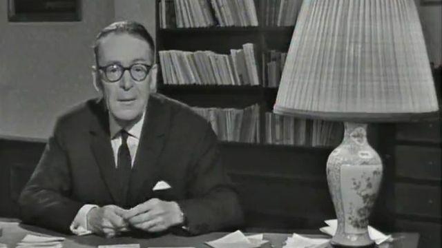 Henri Guillemin en 1966. [RTS]