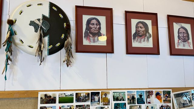 La culture de la tribu indienne autochtone Winnebago est basée sur une transmission orale. [Raphael Grand - RTS]