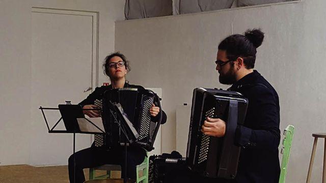 Duo Xamp. [©Thierry Vagne - duoxamp.com]