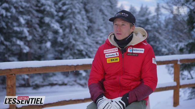 Ski - Charlotte Chable: avec Tanguy Nef [RTS]