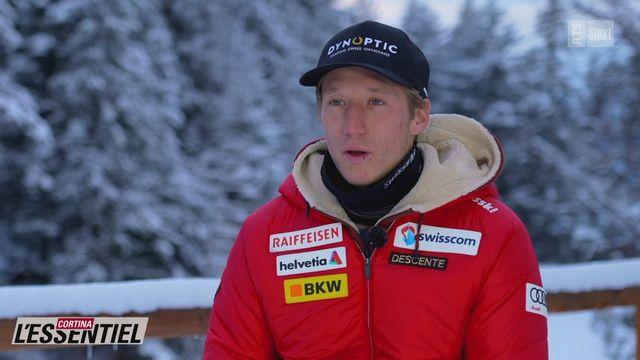 Ski - Charlotte Chable: avec Tanguy Nef (intégrale) [RTS]
