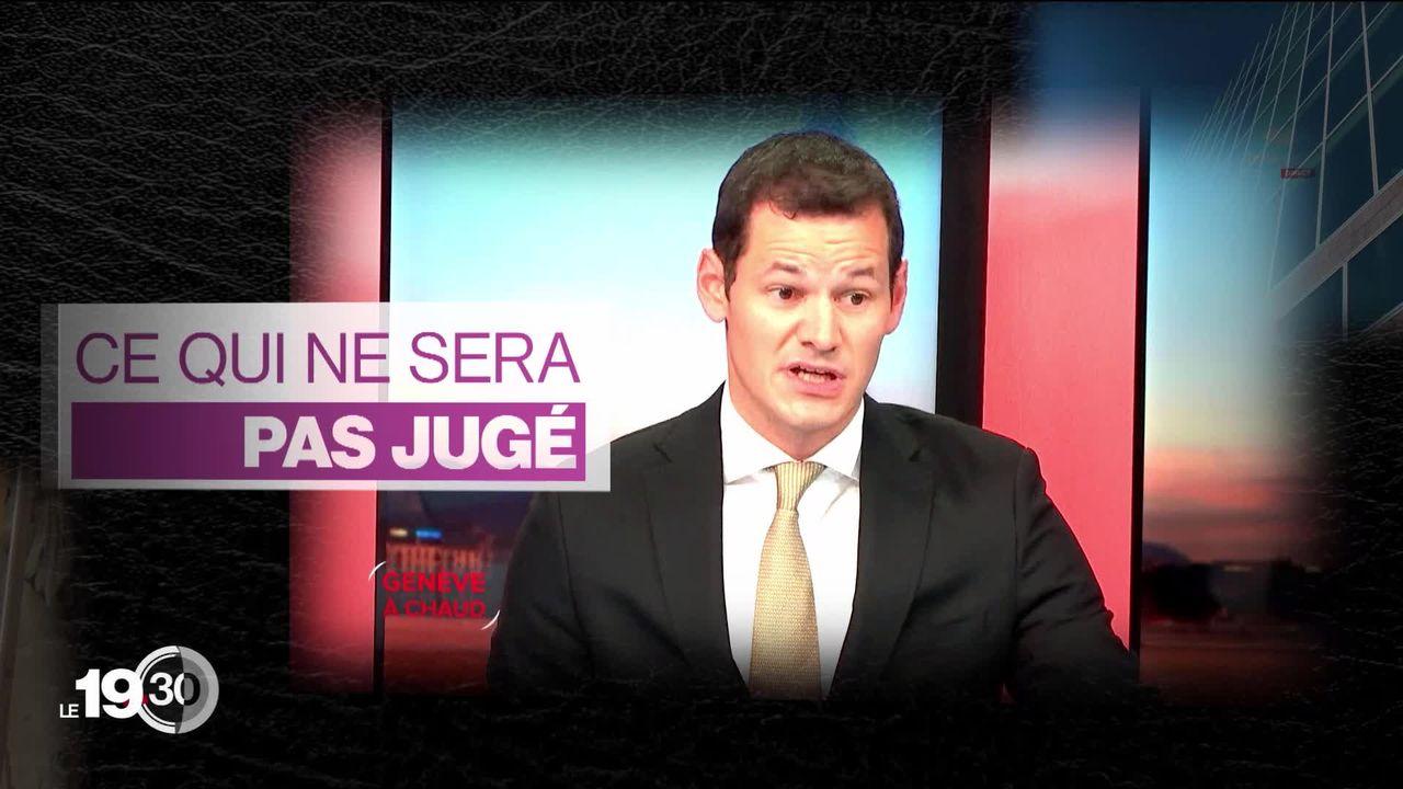 Affaire Maudet: vers l'aboutissement du volet judiciaire [RTS]