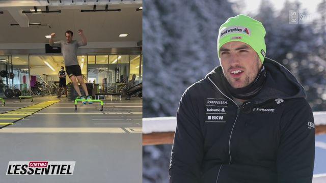 Ski - Charlotte Chable: avec Daniel Yule [RTS]