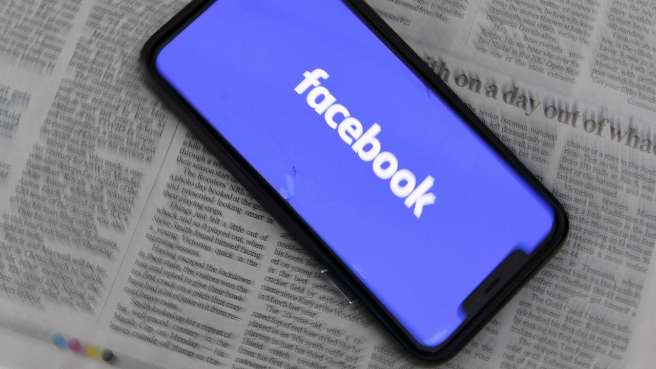 Facebook bloque les contenus d'actualité en Australie. [Lukas Coch - EPA/Keystone]
