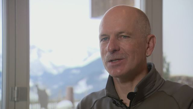 Ski - Paroles d'ex: avec Michael von Grünigen, double champion du monde de géant [RTS]