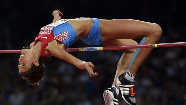 Le record de Blanka Vlasic est de 2m08. [Andy Wong - Keystone]