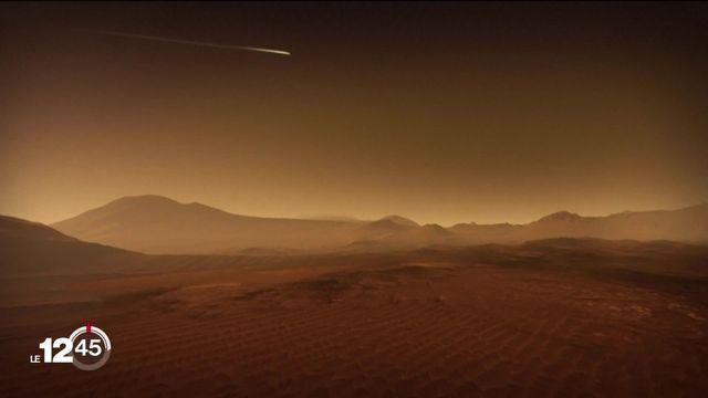 Le rover de la Nasa Perseverance a atterri jeudi sur Mars. [RTS]