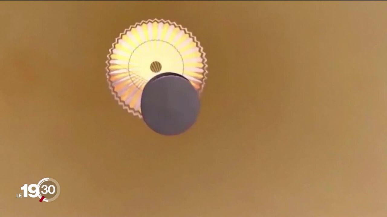 Le rover de la NASA s'est posé sur Mars [RTS]