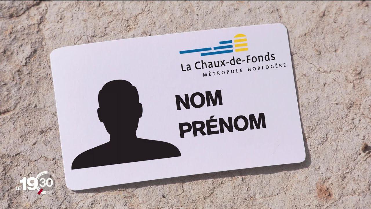 La Chaux-de-Fonds lance un projet de carte d'identité communale [RTS]