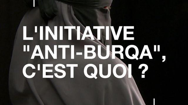 """L'initiative """"anti-burqa"""", c'est quoi? [RTS]"""