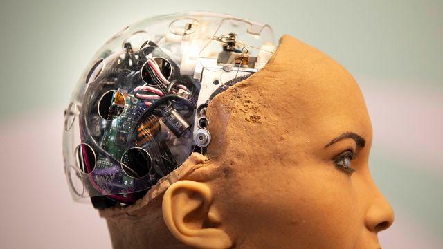 Un robot humanoïde. [Enric Fontcuberta - EPA]