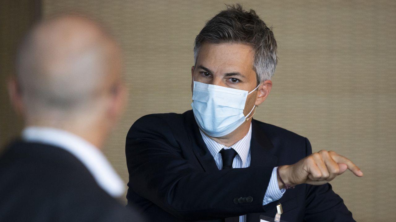 L'épidémiologiste Marcel Salathé quitte la task force fédérale [Peter Klaunzer - Keystone]