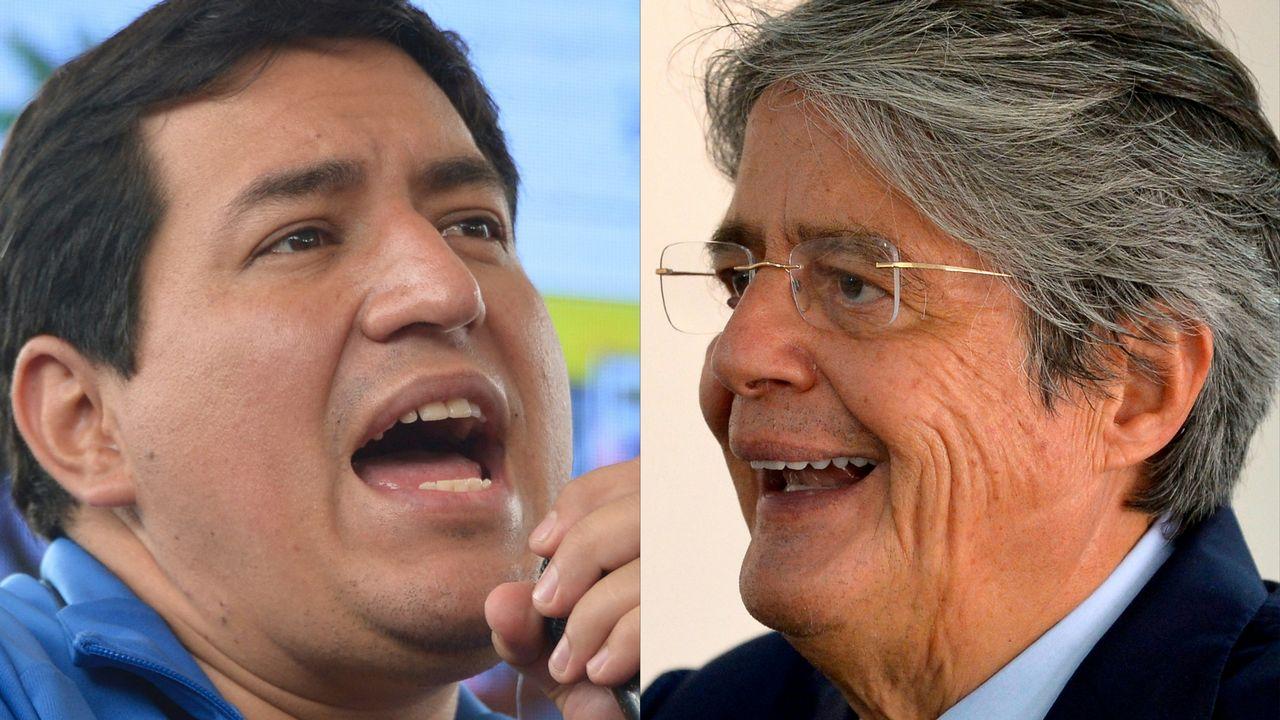Duel Arauz-Lasso au second tour de la présidentielle équatorienne [Rodrigo Buendia - AFP]
