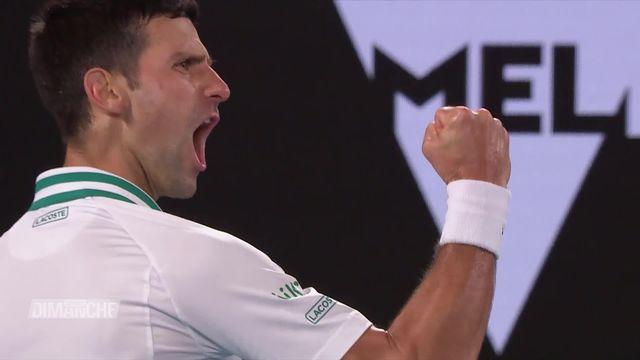 Tennis: une 9e couronne pour Novak Djokovic à Melbourne [RTS]