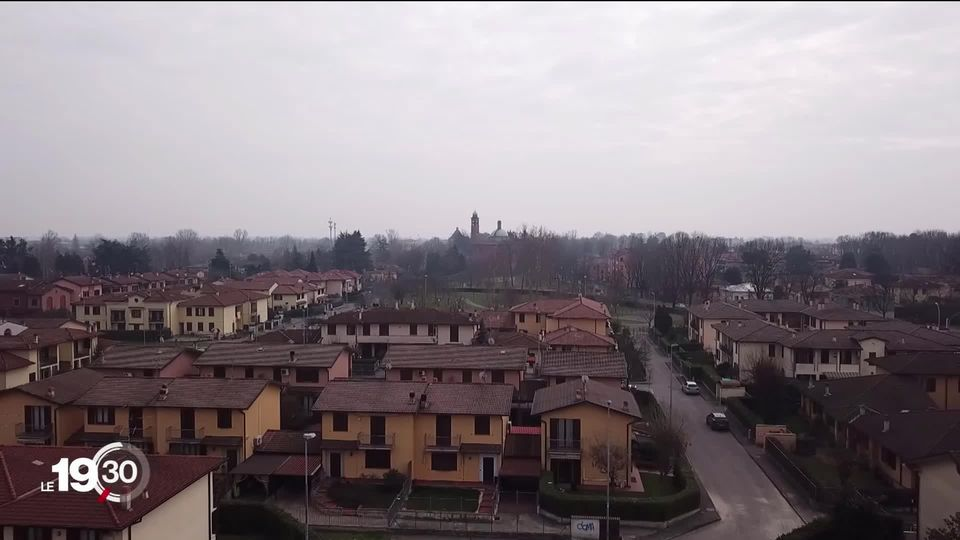 A year ago to the day, Codogno, in Lombardy, was cut off from the world because of the Covid-19. [RTS]