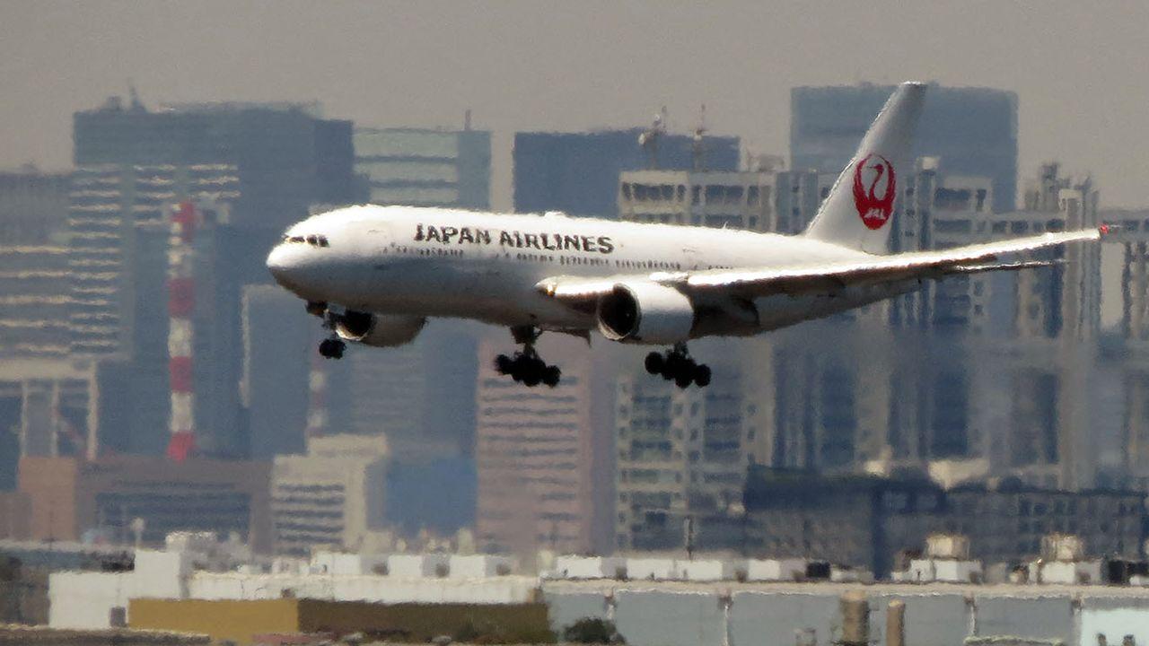 La compagnie Japan Airlines a cloué au sol les appareils concernés. [Kazuhiro Nogi - AFP]