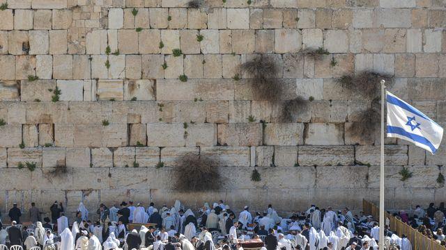 Le Mur des Lamentations situé dans le quartier juif de la vieille ville de Jérusalem. [Artur Widak / NurPhoto - AFP]