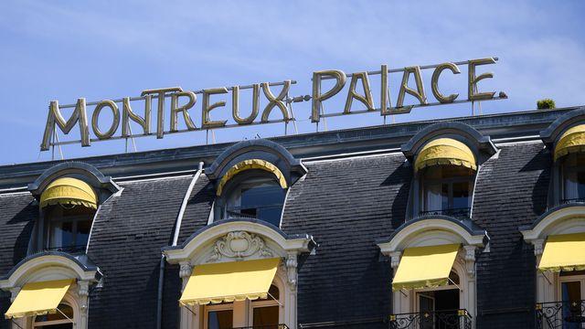 Le Montreux Palace. [Manuel Lopez - Keystone]