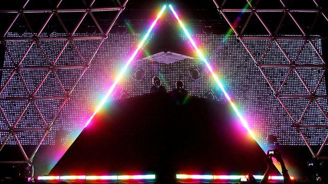 Le duo électro Daft Punk, emblématique de la French Touch, a annoncé sa dissolution. [Karl Walter - Getty Images/AFP]