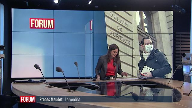 Genève: Pierre Maudet est condamné au terme de son procès [RTS]