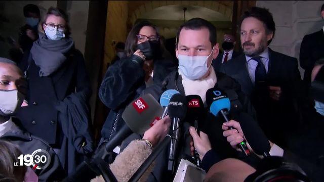 Pierre Maudet est condamné pour le voyage d'Abu Dhabi. [RTS]