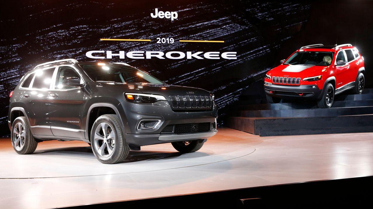 La tribu des Cherokee ne veut plus voir son nom sur des carrosseries de voitures. [Jonathan Ernst - Reuters]
