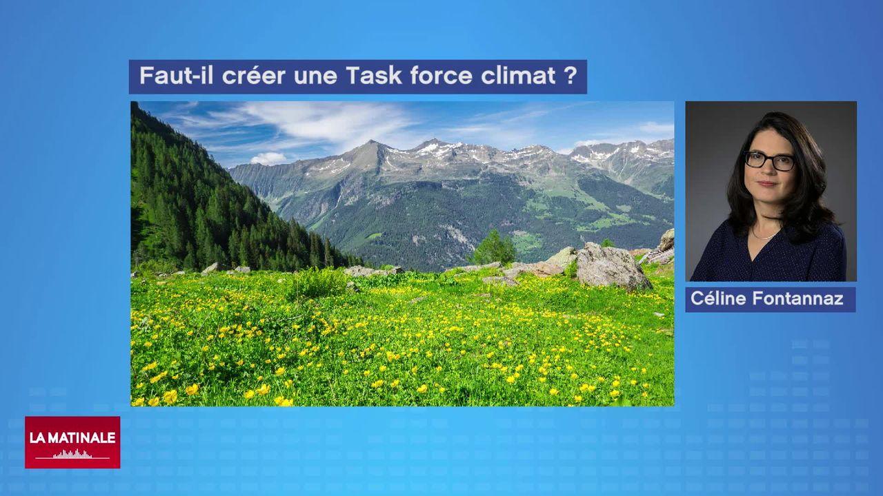Après la Task Force Covid, une Task Force climat pourrait voir le jour [RTS]