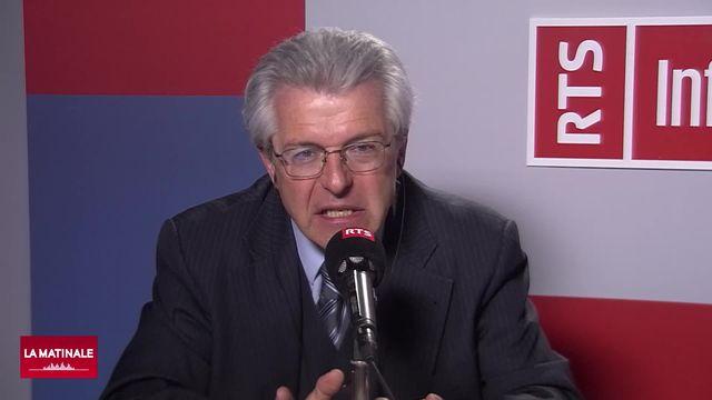Claude Nicati, avocat et ancen conseiller d'État PLR, réagit à la condamnation de Pierre Maudet (vidéo) [RTS]