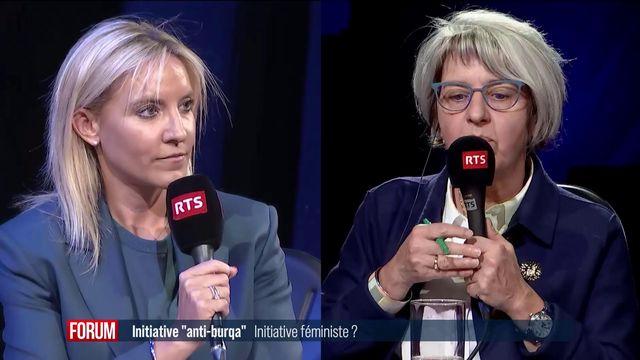 Débat entre Céline Amaudruz, Damien Cottier, Marlyse Dormond et Elisabeth Baume-Schneider. [RTS - RTS]