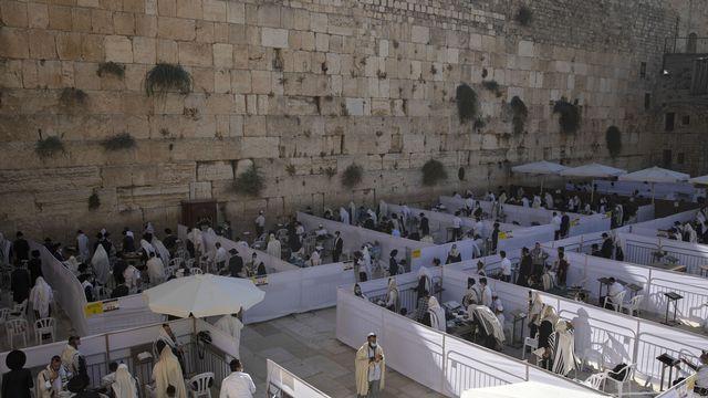 Le Mur des Lamentations à Jérusalem. [Sebastian Scheiner - AP Photo/Keystone]