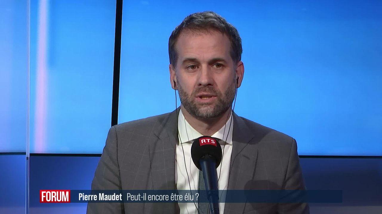 Pierre Maudet peut-il encore être élu après sa condamnation? (vidéo) [RTS]