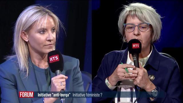"L'initiative ""anti-burqa"" est-elle une initiative féministe? (vidéo) [RTS]"