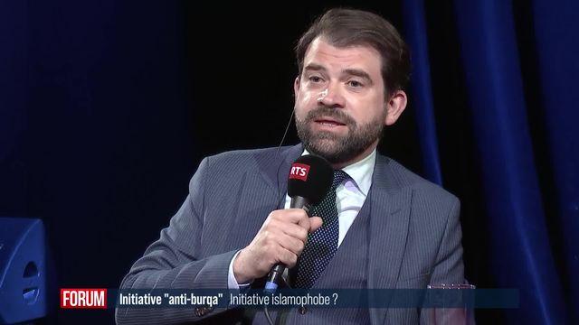 "L'initiative ""anti-burqa"" est-elle islamophobe? (vidéo) [RTS]"