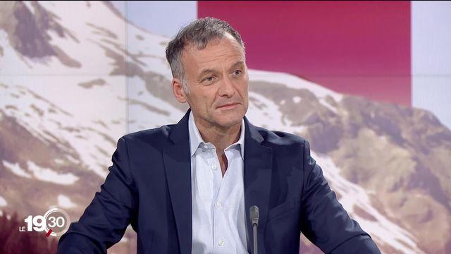 Déploiement de la 5G, l'analyse du journaliste Nicolas Rossé. [RTS]