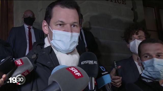La condamnation de Pierre Maudet pour acceptation d'un avantage polarise ses détracteurs et ses partisans. [RTS]
