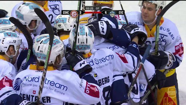 National League, 50e journée: Genève - Zoug (3-4 ap) [RTS]