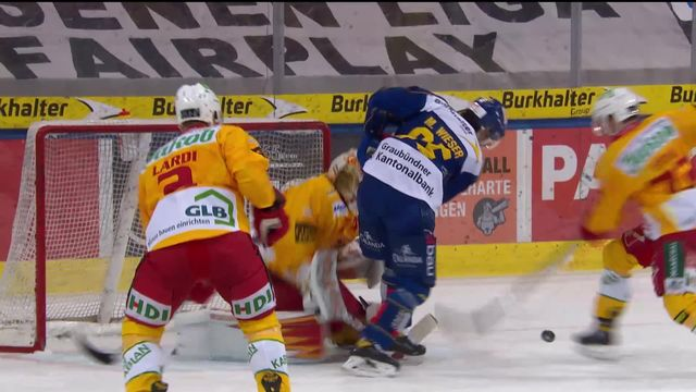 National League, 9e journée: Davos - Langnau (3-1) [RTS]