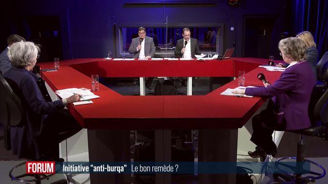 """L'initiative """"anti-burqa"""" est-elle le bon remède? (vidéo) [RTS]"""