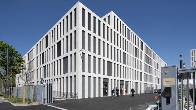 Le bâtiment du Ministère public de la Confédération à Berne. [Anthony Anex - Keystone]