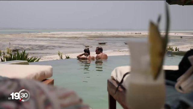 Zanzibar, destination touristique prisée pour fuir la pandémie. [RTS]