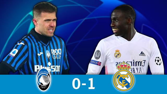 1-8 aller, Atalanta - Real Madrid (0-1): Ferland Mendy offre la victoire au Real en toute fin de rencontre !