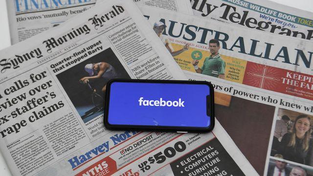 Loi australienne obligeant à rémunérer les médias a été adoptée. [Lukas Coch - Keystone/EPA]