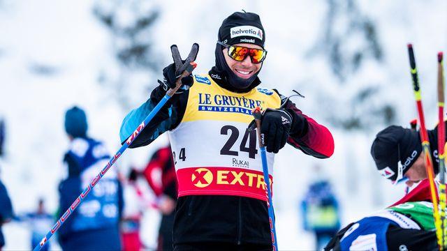 27 novembre 2020: Jovian Hediger avait décroché la 6e place en sprint classique à Kuusamo. [Federico Modica - Freshfocus]