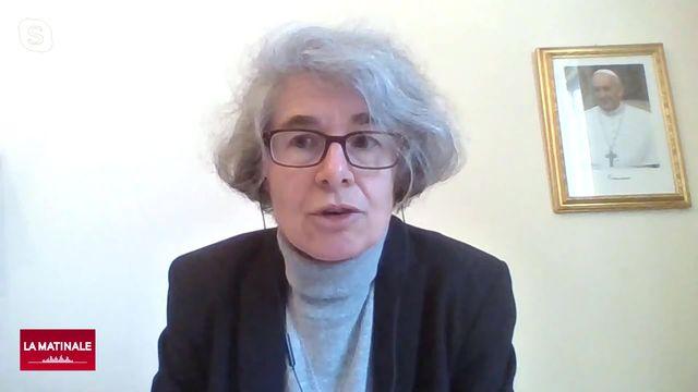L'invitée de La Matinale (vidéo) - Nathalie Becquart, première femme qui aura le droit de vote au Saint-Siège [RTS]