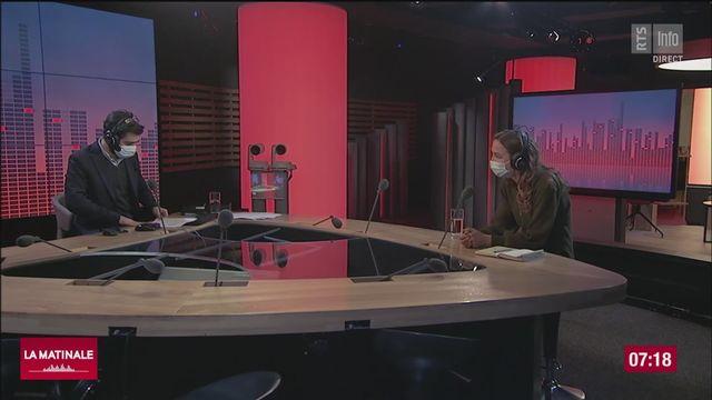 Frédérique Beauvois déplore la fermeture prolongée des restaurants [RTS]